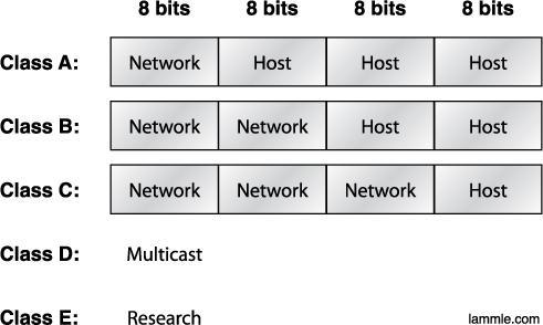 Network Addressing Subdividing an IP address into a network and node address is determined by the class designation of one s network.