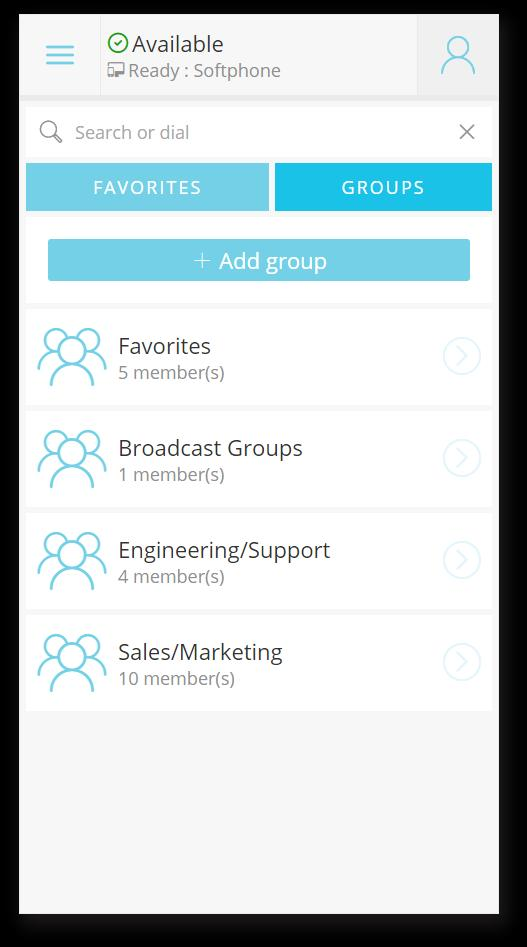 See Everyone s Presence + Organize them into Groups Easily gain a view to the real-time presence and availability of your co-workers with the ability to place an instant call,