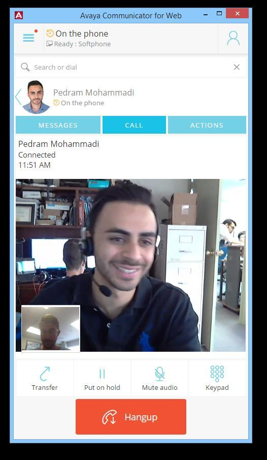 Make Voice + Video Calls Right from the Browser Leverage the WebRTC-based softphone to make