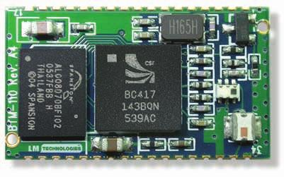 Bluetooth.0 /. + EDR Module 0700 0/MAR/05 5mm.5mm Features The module is a Max dbm (Class) module. AT Command Set provided for module configuration Bluetooth standard v.0 and BT v.