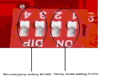 6. The setting of current,microstepping and current-decay mode adjustable 6.