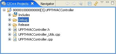 j. Upload the debug configuration of your FPM to your SmartServer. To do this, expand the Debug folder, right-click the <company program ID>.UFPT<FPM name>.app.drv file and then click Transfer to i.