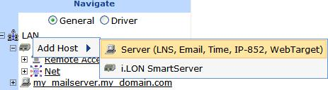 2. Install the Echelon i.lon SmartServer Enterprise Services on an LNS Server (running LNS Turbo Server [version 3.2] or newer) from the i.lon SmartServer DVD or the i.