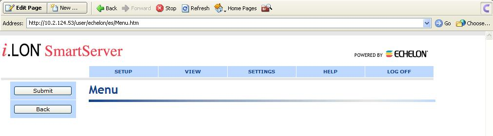 5. Click Edit Page and then click anywhere in the menu bar at the