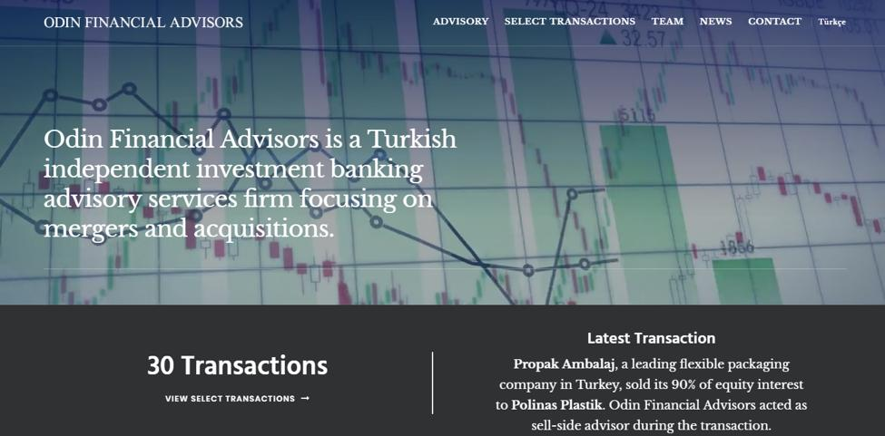 Odin Financial Advisors Overview The consulting sector is well developed in the region, especially in Iran, Iraq, and Qatar.