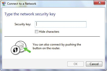 Section 5 - Connecting to a Wireless Network 5. Enter the same security key or passphrase (Wi-Fi password) that is on your router and click Connect.