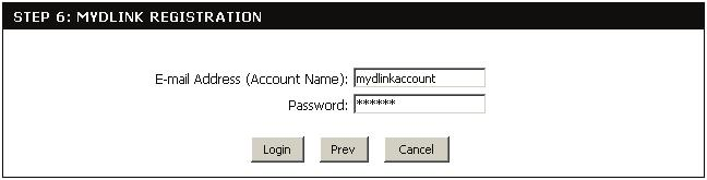 To use the mydlink service (mydlink.com or the mydlink Lite app), you must have an account.