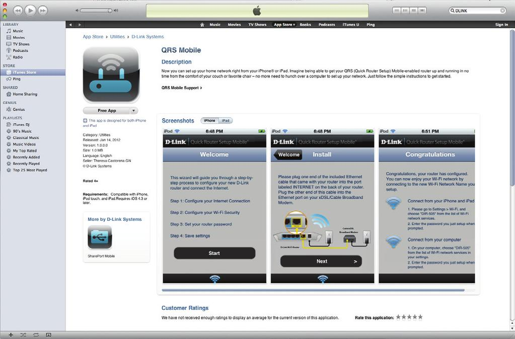 QRS Mobile App QRS Mobile app allows you to install and configure your router from your mobile device.