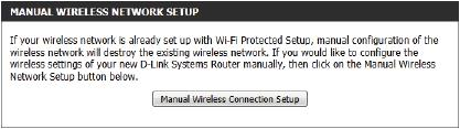 Step 2: After selecting Manual, the following page will appear. On this page to user can view the wireless configuration of this router.