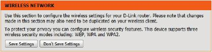 This option is for wireless clients that can t use the WPS method to connect to this device. Click on the Prev button to return to the previous page.