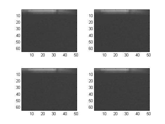 The average distance over the area of the box was 961mm, and the pixel variance of each individual picture was 2.9567mm, 3.4594mm, 2.8928mm and 4.0468mm. Test 3 0.5 meter Same test with a box 0.