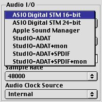 "Using the Digital STM with an ASIO-Compatible Application To use the Digital STM with an ASIO-compatible application such as CuBase/VST, you must move the files ""ASIO Digital STM 16-bit"" and ""ASIO"