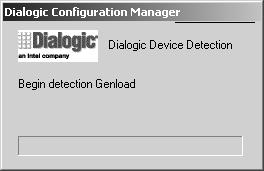 Section 1 Adding Expansion Cards Configuring the Dialogic Device Driver Configuring the Dialogic Device Driver the Dialogic Device Driver After you have installed the necessary expansion cards, you