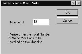 Section 1 Adding Expansion Cards Configuring the Voice Mail System Configuring the Voice Mail System the Voice Mail System In this section, you are configuring the Voice Mail System to recognize each