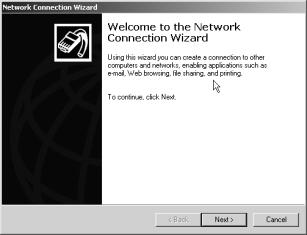 From the desktop of the remote computer: Click Start Programs Accessories Communications Networking and Dial-up Connections.