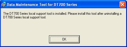 4 Before Use 4.1 Installing Maintenance Tool Install Maintenance Tool on your PC. Confirm the PC environment, and start the setup.