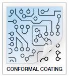 The conformal coating dipping can be applied to PCBAs or circuit board.