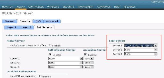 a. In the Bind Username field, enter a username to be used for local authentication to the LDAP server. b. In the Bind Password and Confirm Bind Password fields, enter a password to be used for local authentication to the LDAP server.