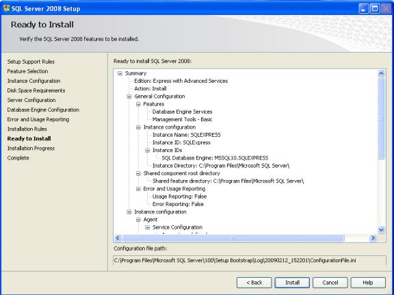 7. Click Install SQL Server 2008 R2 Express Installation This is a step-by-step guide to install SQL Server 2008 R2 Express Edition.
