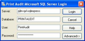 "The ""server"" field is usually the name of your SQL Server."