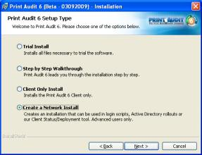 "Step 3: Installation Type Select the ""Client Only"" installation type. Press ""Next"" to continue."