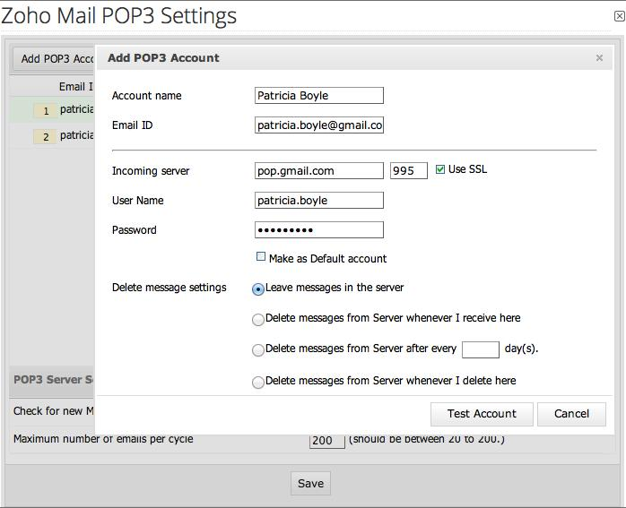 Adding other email accounts hosted in third-party mail clients is not a complicated process.