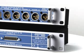 Three different versions are available: BOB-16 I, BOB-16 O and BOB-16 I/O.