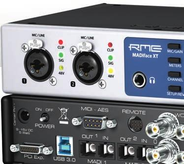 MADIface XT 394-Channel 192 khz USB 3.
