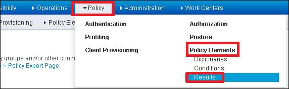 Step 2. Add a new Authorization Profile.