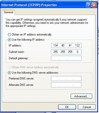 112 (or use your sig gen IP address) A successful ping result should be returned as shown below.