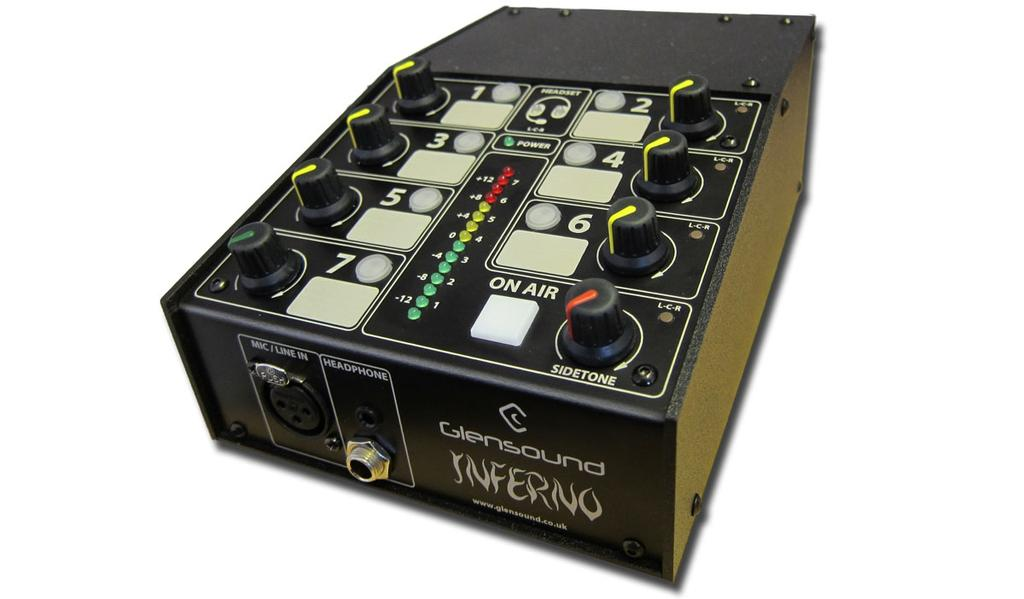 Commentary For Dante Audio Networks Highlights Dante Network Audio Interface Low Noise Mic Amp with Referee Compressor AES67 Option Redundancy On Network Links & Power Supplies Copper & Fibre Network