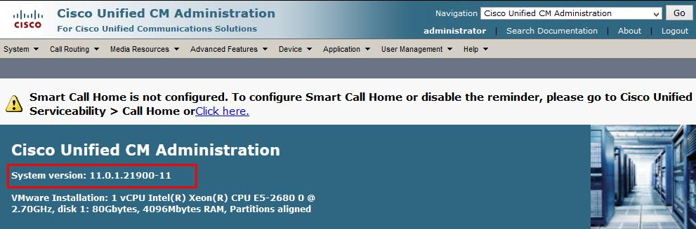 Configuring Cisco Unified Communications Manager Cisco UCM Version Cisco Call