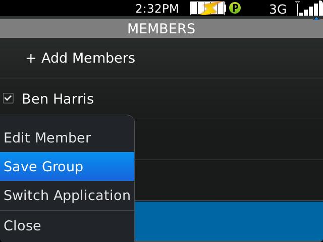 4. Creating PTT Groups Groups can be created manually or pushed to the phone by the