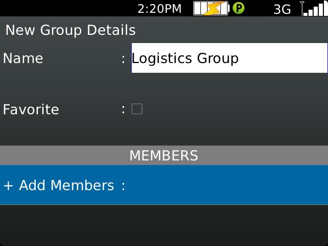Groups added by a corporate administrator cannot be deleted or changed.