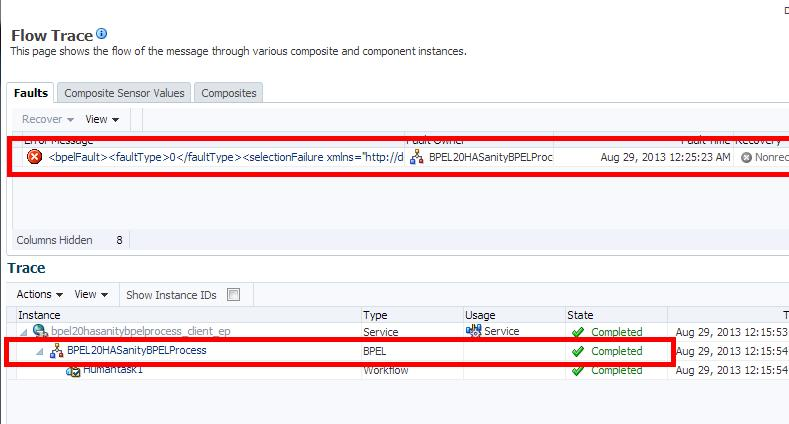 Verifying that the Upgraded Components Work as Expected Figure 8 2 Upgraded 11g Instance