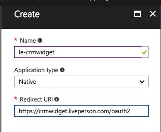 Creating an Applicatin ID and Client Secret entry enables ur CRM Widget t access yur Micrsft Dynamics instance.