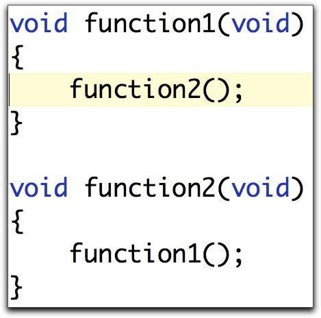 Declaration vs. Definition C/C++: Name only valid after declaration. How to define a list type (recursive type)? Next pointer is of the type that is being defined!