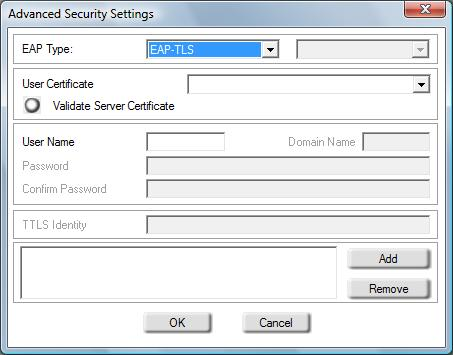 Section 4 - Wireless Security Configure 802.1x (RADIUS) Using the D-Link Utility 802.1x is for advanced users who are familiar with using a RADIUS server and setting up certificates. 1.