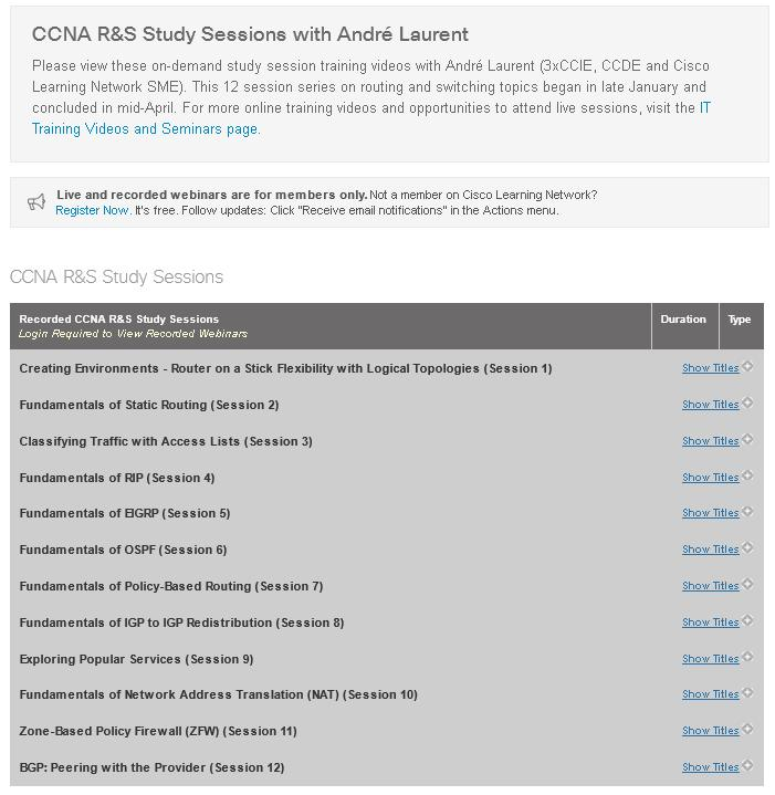 Prepare for Success- Study Resources for CCNA and CCNP Certification