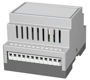 1.3.2 Modbus RTU interface, RS232/485 The 12-pole screw connector contains a RS232 and a RS485 interface. This port can be used to connect to any equipment using one of these interfaces.