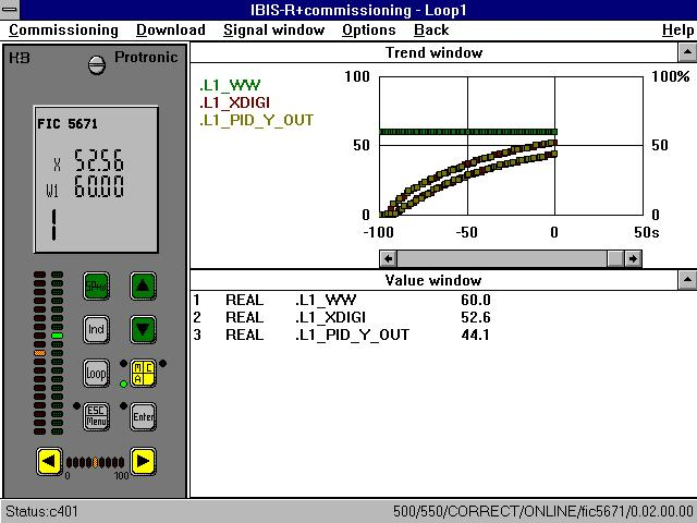 software for Digitric 500 and Protronic