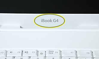 "General Information Overview To easily distinguish this computer from previous ibook models, note these characteristics: ""ibook G4"""