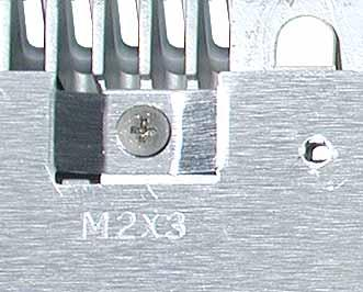 Note: The metal EMI shields bottom shield and top shield are now marked with screw identifiers for most of the screw locations.