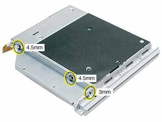 Important: When reassembling the computer, transfer the mounting bracket to the replacement