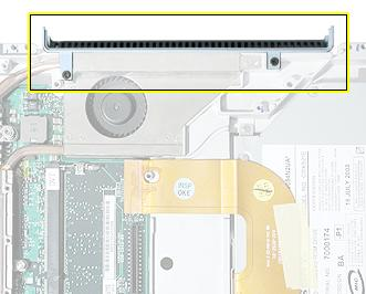 Vent Cover Tools Soft cloth #0 Phillips screwdriver Part Location Preliminary Steps Before you begin, remove the following: Battery Keyboard and RAM