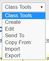 Editing T edit an item at any time, simply click the pencil icn next t the item.