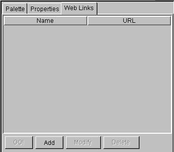 Adding URLs to the Web Links tab Client environment 47 You can add URLs to the Web Links tab.