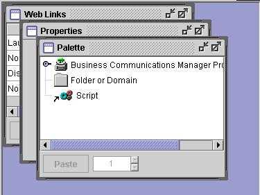 Client environment 57 Figure 19 Tab and desktop views of context-sensitive data Tab View Desktop View Progress Window The Progress Window displays messages describing the status of tasks initiated by