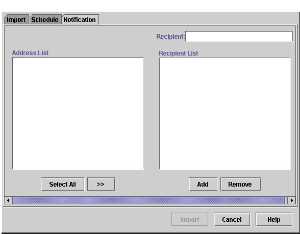 68 Client environment Figure 28 E-mail Notification tab Using the Help system The Help window has a left and a right pane.