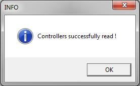 6. When the controller is successfully added to the project, the following window will appear: 7. The Q.